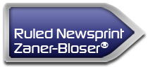 Ruled Newsprint for Zaner-Bloser® Programs